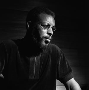 Ornette Coleman during the recording session for his Empty Foxhole album