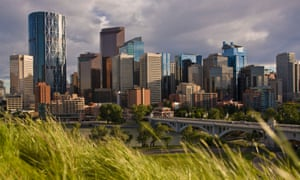 According to one study, Calgary – Canada's oil capital – is the cleanest city in the world.
