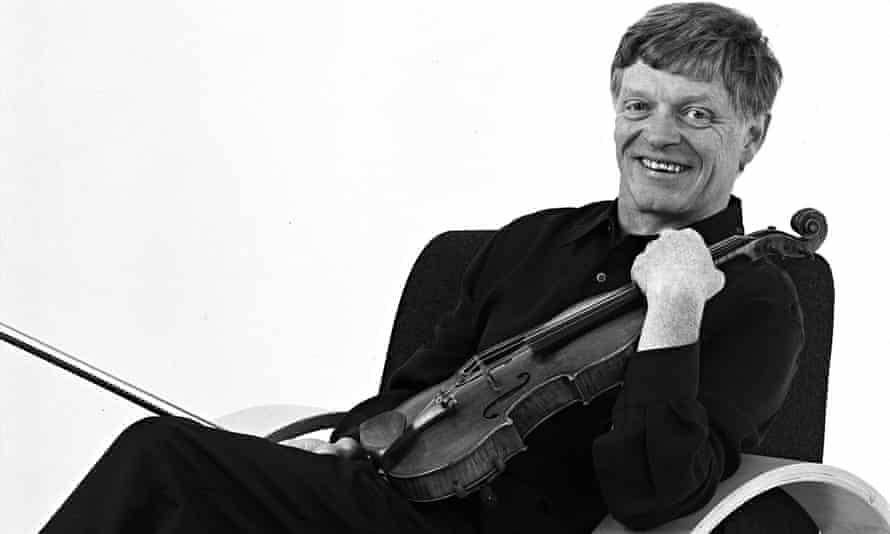 Peter Cropper, of Lindsay String Quartet
