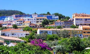 Monchique is a spa town 25 miles inland from Portimao.