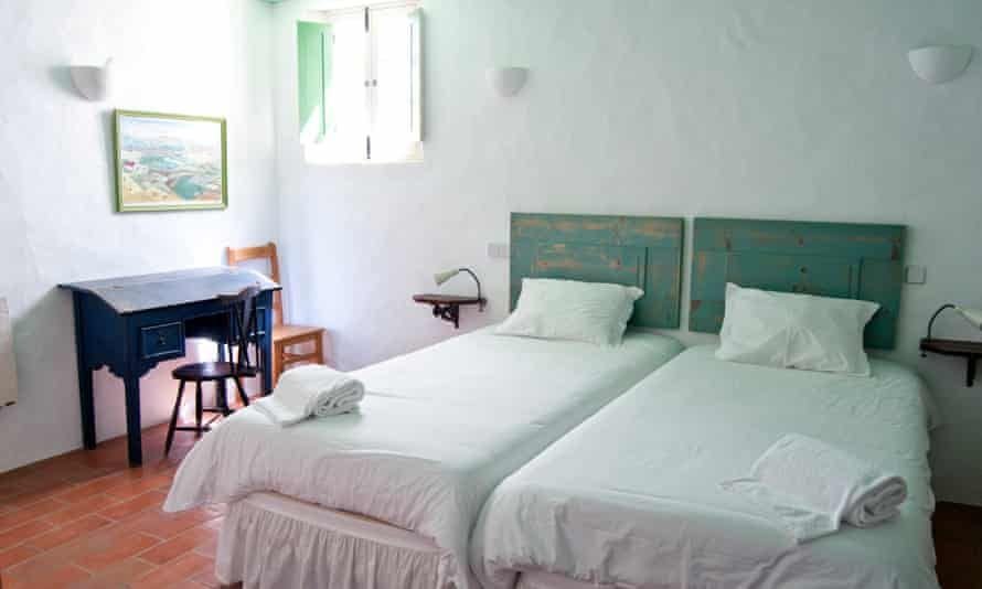 A room in one of the refurbished, formerly deserted houses of Aldeia de Pedralva