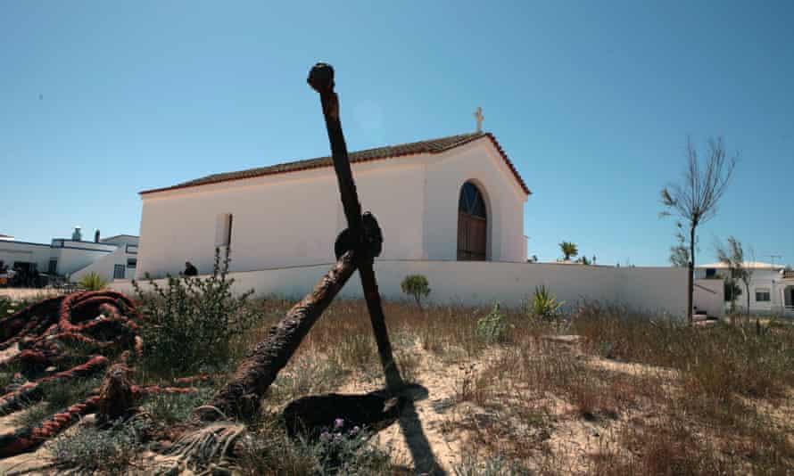 A chapel in Culatra.