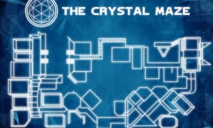 A map of the Crystal Maze