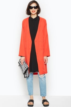 A duster coat from Monki.