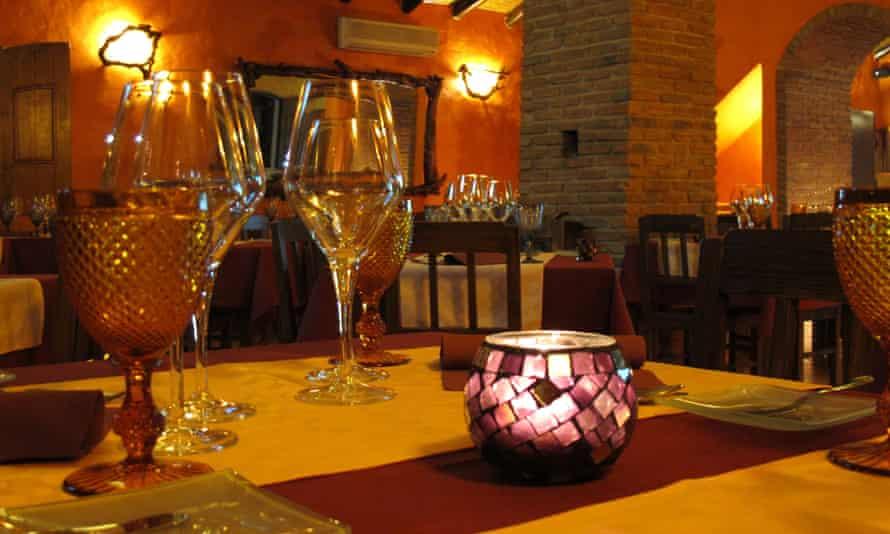 Xerém restaurant in Paderne village