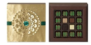 Armani Dolci Ramadan chocolate collection.