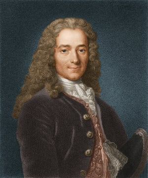 Portrait of Voltaire, c1740.