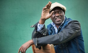 Alain Mabanckou, author of Broken Glass, a finalist in this year's Man Booker international prize.