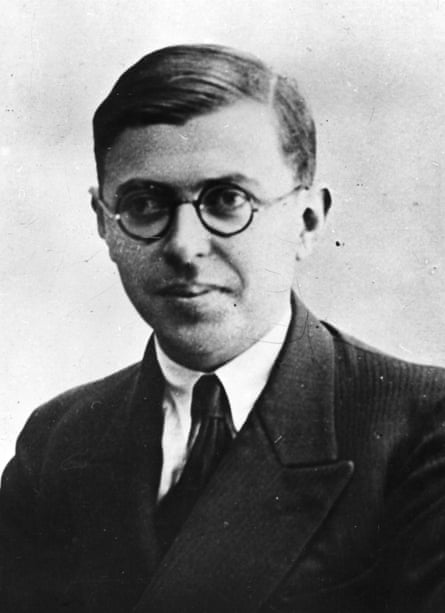 Jean-Paul Sartre, c1940.