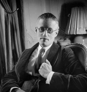James Joyce in 1934.