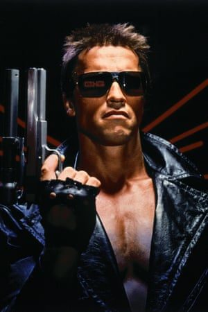 Schwarzenegger in The Terminator.