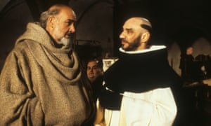 Sean Connery in the film of Umberto Eco's The Name of the Rose from 1986.