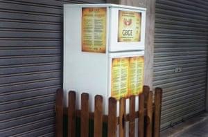 Galdakao's 'solidarity fridge'.