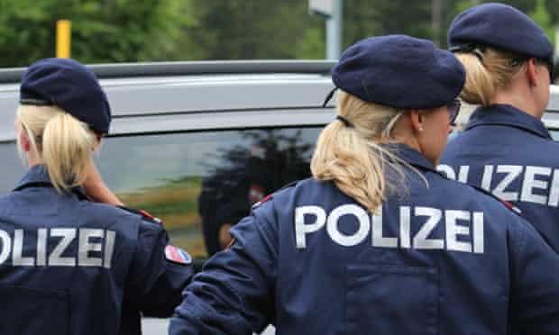 Police stand guard at Bilderberg 2015.
