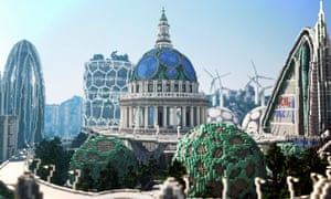 Climate Hope City: how Minecraft can tell the story of