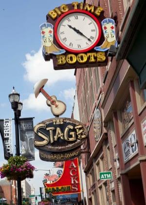 Nashville's Broadway.