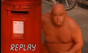 Orange Man from the Tango ad