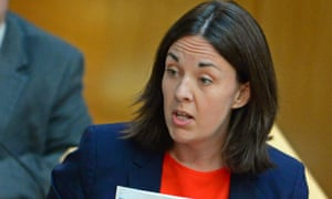 Kezia Dugdale is clear favourite to assume the leadership of Scottish Labour.
