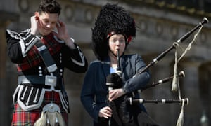 Ruth Davidson (right) in Edinburgh during the election campaign.
