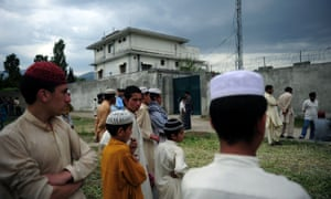 Save the Children first attracted official wrath after becoming embroiled – the organisation claims unwittingly – in the CIA's efforts to locate Osama bin Laden in a compound, pictured, in Abbottabad.
