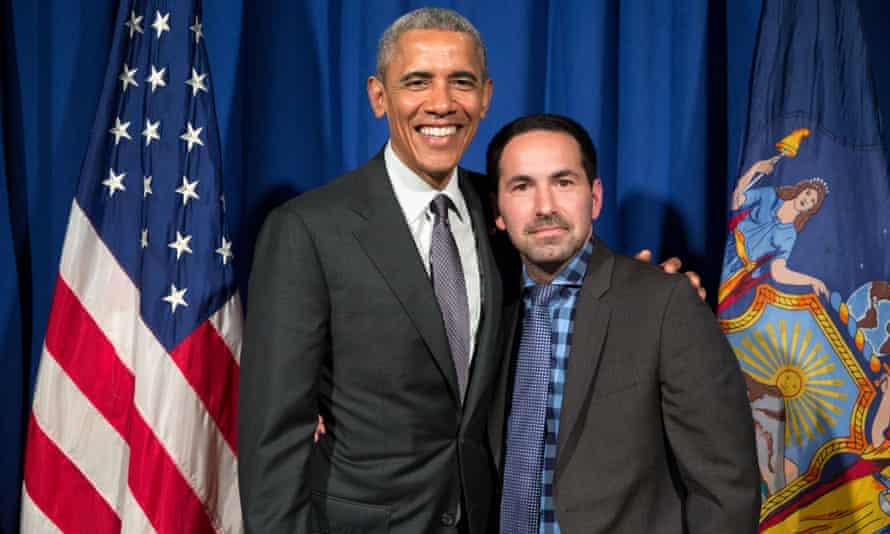 Scott with Obama