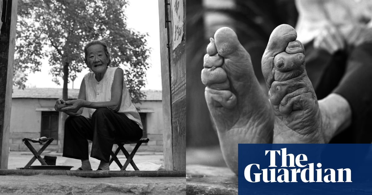 Unbound China S Last Lotus Feet In Pictures Art And Design The Guardian
