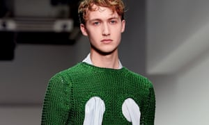Androgyny rules: a model on the Craig Green catwalk