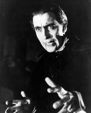 Lee in 1958's Dracula.