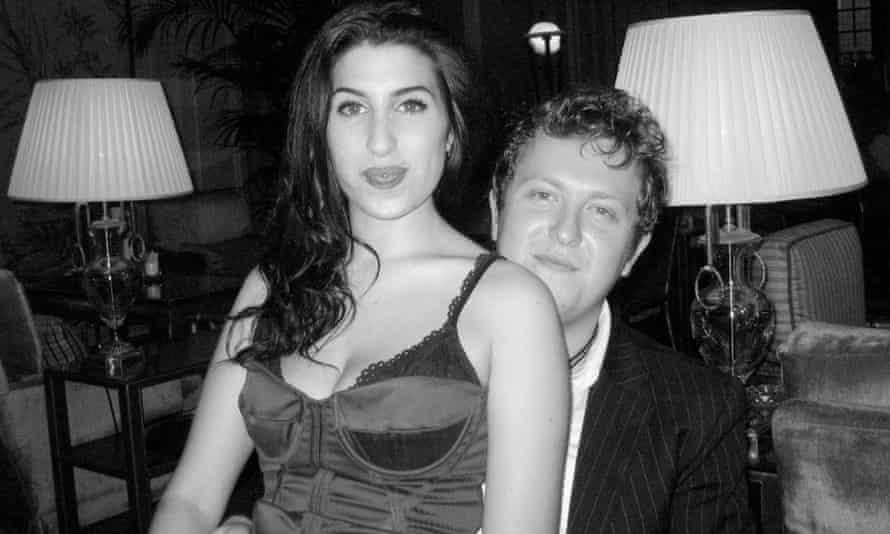 Nick Shymansky with Amy Winehouse.
