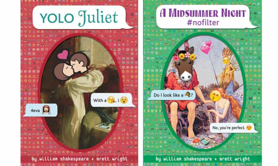 YOLO Juliet and A Midsummer Night #nofilter by William Shakespeare and Brett Wright.