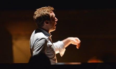 British conductor Daniel Harding