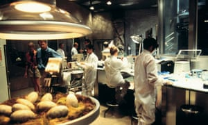 """The high-tech lab full of """"geeky yet glamorous"""" scientists in the original Jurassic Park."""
