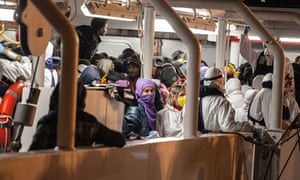 Over one thousand migrants rescued off the Strait of Sicily