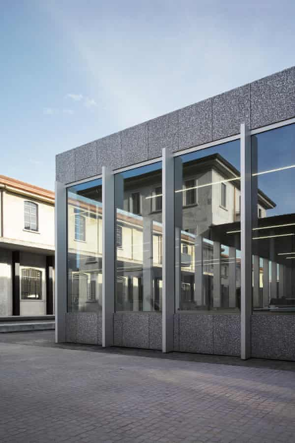 Fondazione Prada: 'looking smoother than the Garage'.