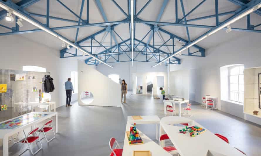 The Accademia dei bambini at Fondazione Prada, Milan, has been designed for children.
