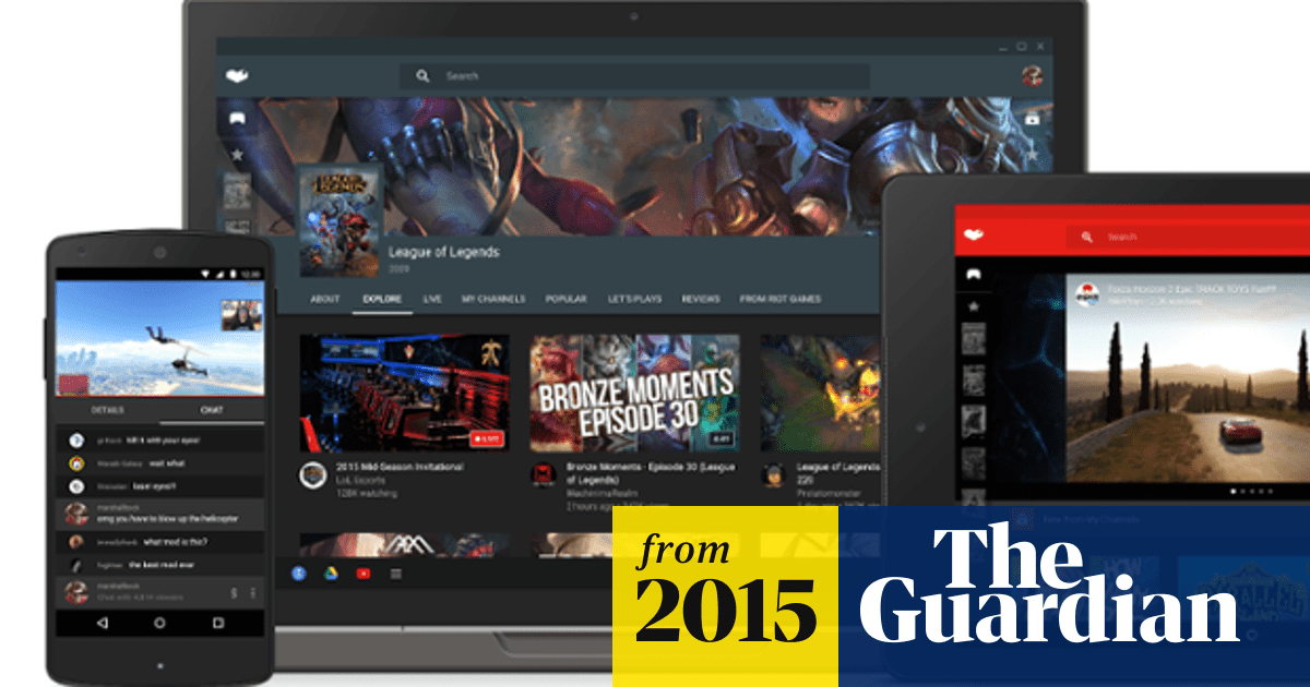 Google launches YouTube Gaming to challenge Amazon-owned