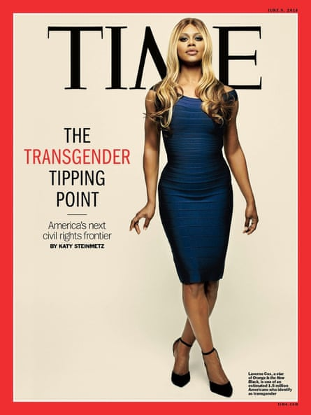 A year before Caitlyn Jenner's Vanity Fair viral sensation, Cox appeared on the cover of Time magazine