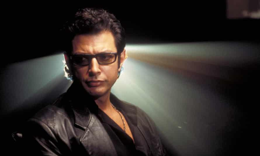 Jeff Goldblum as Dr Ian Malcolm in Jurassic Park. 'I sometimes wish he was on hand in real life to inject a bit of sarcasm.'