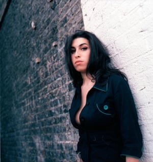 Amy Winehouse photographed in Camden by Karen Robinson.