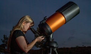 Reaching for the stars: Young women must be encouraged to pursue their scientific ambitions.