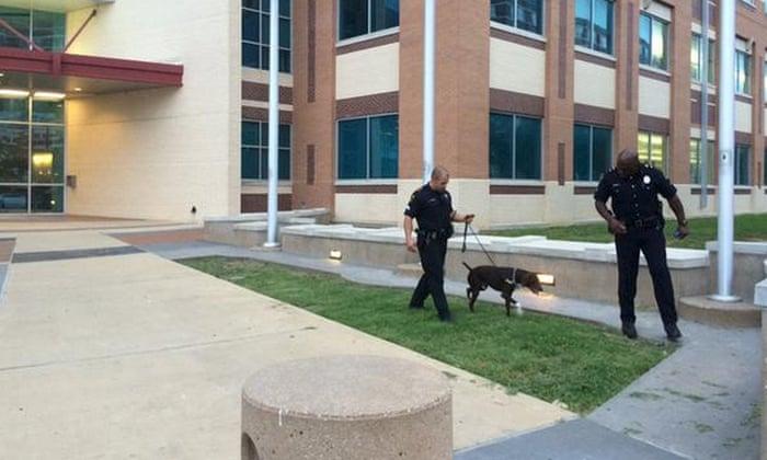Dallas police confirm HQ attack suspect shot by sniper is