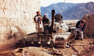 From Khan's new documentary - Jihad: A British Story - former extremist Abu Muntasir in Afghanistan