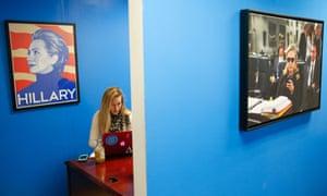 Hillary Clinton campaign intern