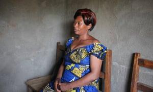 Anne-Marie Buhoro, who was raped in Minova. 'It is very dangerous now'.