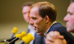 Borussia Dortmund presents new coach Thomas Tuchel