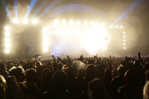 Newport The Prodigy headline the first day of the the Isle of Wight Festival