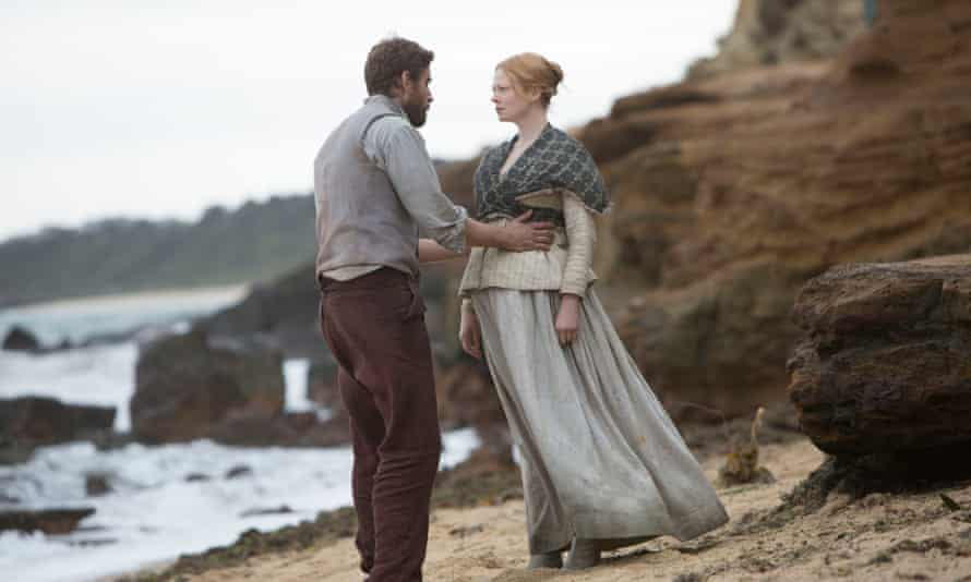 The Secret River  Will and Sal Thornhill (Oliver Jackson-Cohen and Sarah Snook)