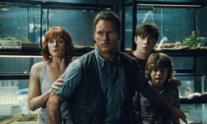 Raptor-ous reception ... Jurassic World has the biggest opening for any film so far this year.