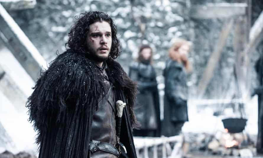 Back in Castle Black… Jon Snow (Kit Harrington).