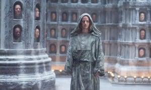 Face off…Tom Wlaschiha as Jaqen H'ghar.